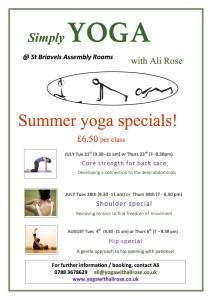 summer special classes