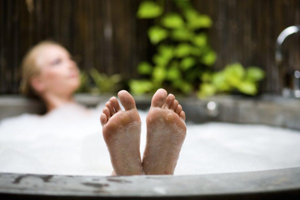 Hot Tub Feet Small